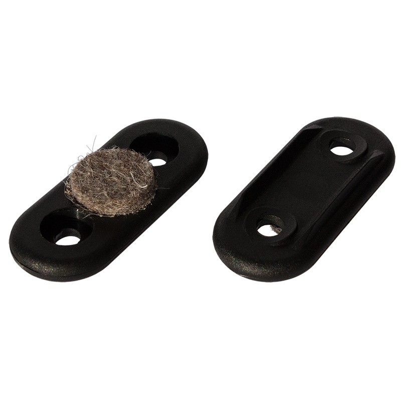 dekaform filzgleiter schalengleiter 231 bodenschoner oval fuer rundrohre 2 49. Black Bedroom Furniture Sets. Home Design Ideas