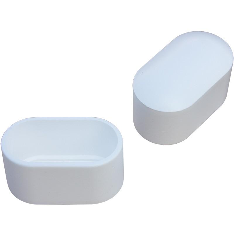 kappe flach oval g265 fusskappe kunststoffgleiter m bel gleite. Black Bedroom Furniture Sets. Home Design Ideas