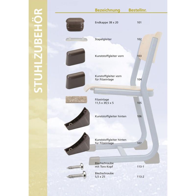 stapelgleiter 102 kunststoff kufen gleiter. Black Bedroom Furniture Sets. Home Design Ideas
