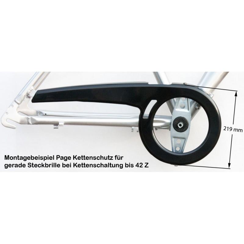 dekaform fahrradkettenschutz page 219 k fuer 219 mm. Black Bedroom Furniture Sets. Home Design Ideas