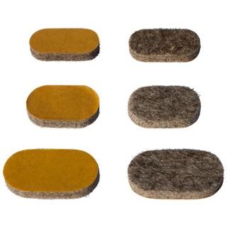 filzgleiter bodenschoner fusskappe stuhlbeinkappe freischwing stuehle rechteck quadrat stahlrohr. Black Bedroom Furniture Sets. Home Design Ideas