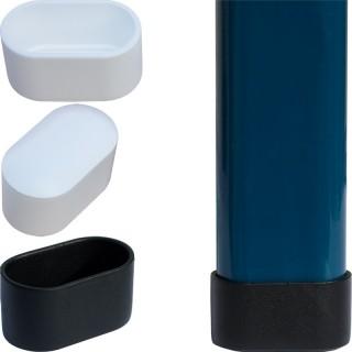 fußkappen für gartenstühle 40x20 blau