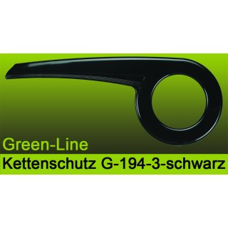 Green-Line Upcycling Fahrrad Kettenschutz  194 für 40-42 Zähne 1-fach Kettenblatt - Nabenschaltung