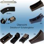 Schalengleiter Z-203, Kunststoffgleiter - Gleitkufe mit...