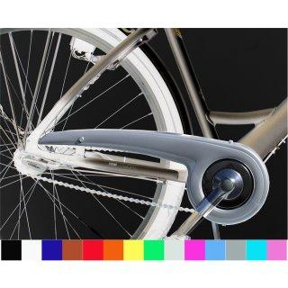 Fahrrad Kettenschutz Dekaform Performance Line 180-2 bei 36-38 Zähne Kettenblatt fuer City Bike mit Nabenschaltung