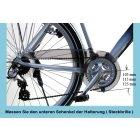 Fahrrad Kettenschutz Performance Line 230-2 bei 44-46-48 Zähne Kettenblatt ATB MTB nachträglich bei Kettenschaltung