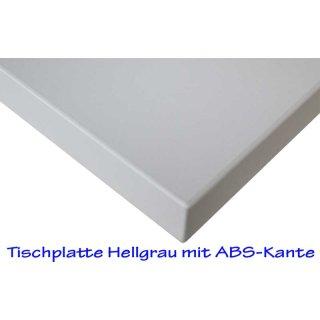 Desk plates / tabletop for office schooling funiture *130x65 cm light grey