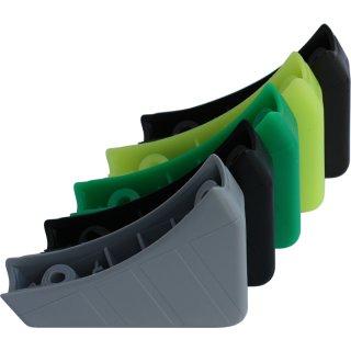 Chair plastic glider 106 table slider for tube diameter 20 mm Casala school furniture flat-oval 38x20 mm