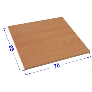 Desk plates / tabletop for office schooling furniture *70x65 cm