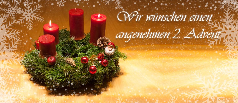 Dekaform wünscht einen schönen 2. Advent